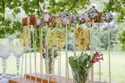 Beautiful savoury lolly pop platters