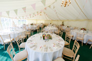 Colour themed and dressed marquee