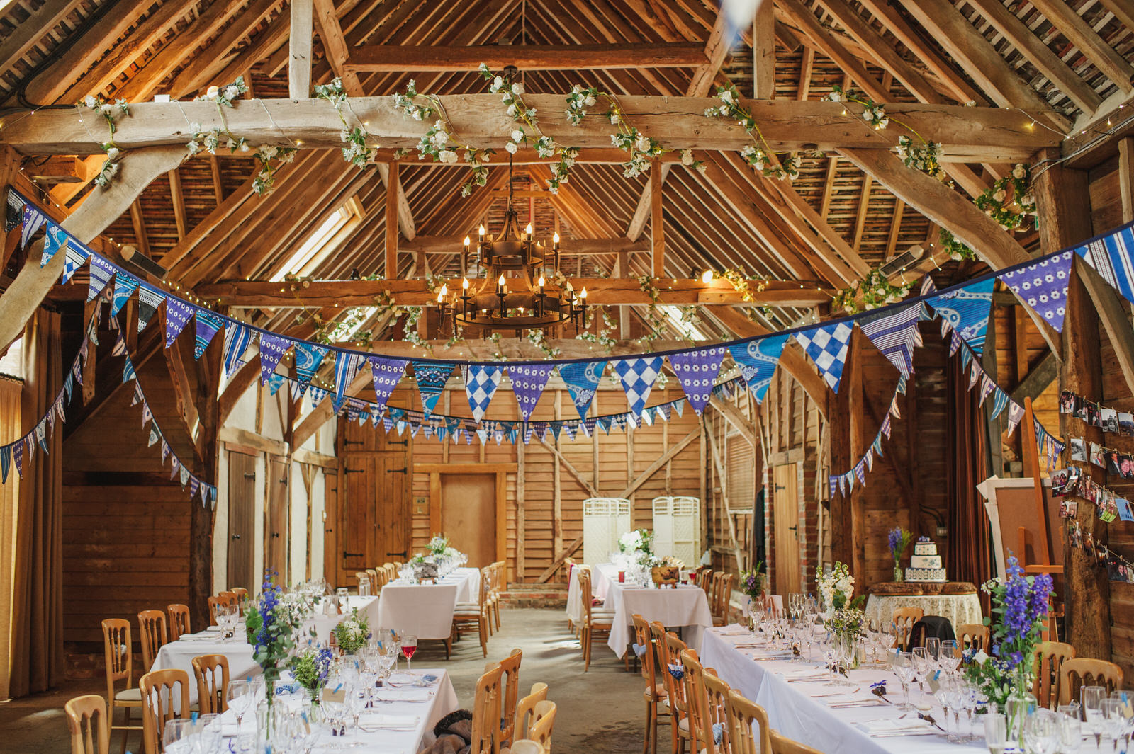 The beautiful and romantic Tythe Barn at Herons Farm